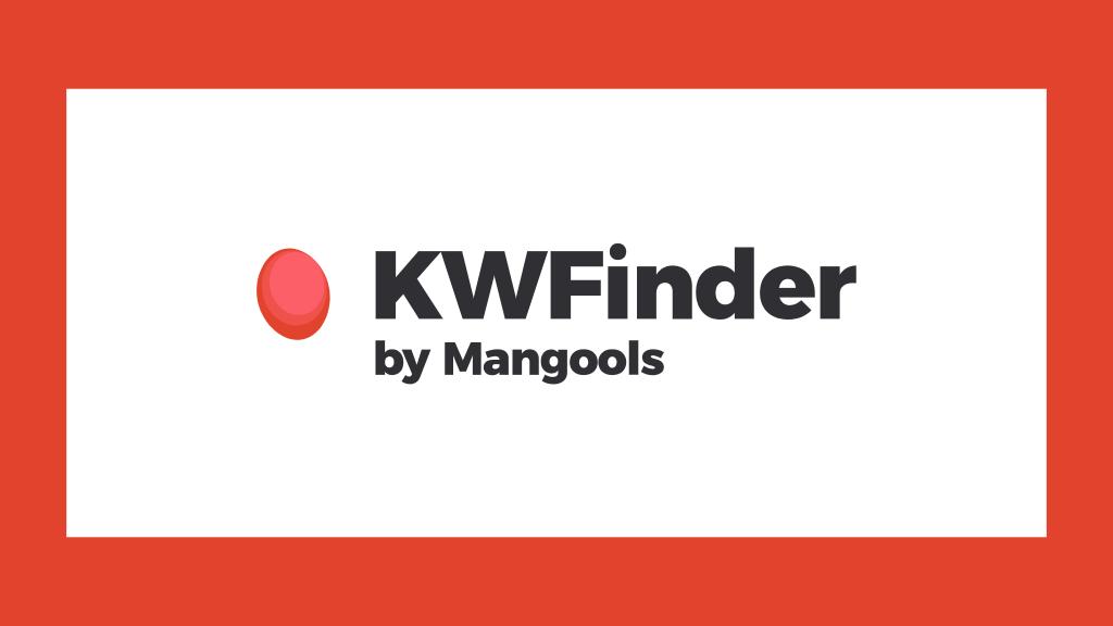 KWFinder Keyword Tool von Mangools