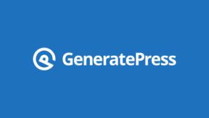 GeneratePress WordPress Theme