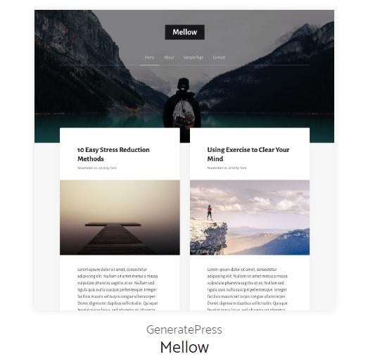 Mellow Demo Site