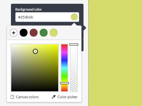Stencil Color Picker