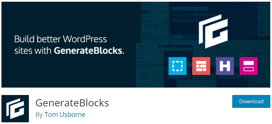 GenerateBlocks